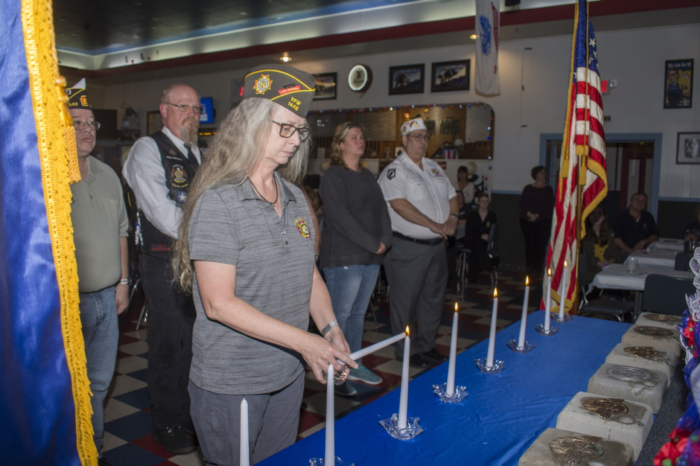Lighting a Candle for Vets